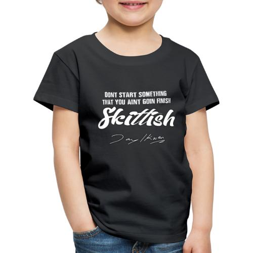 Jay Ikwan Skittish - Kids' Premium T-Shirt