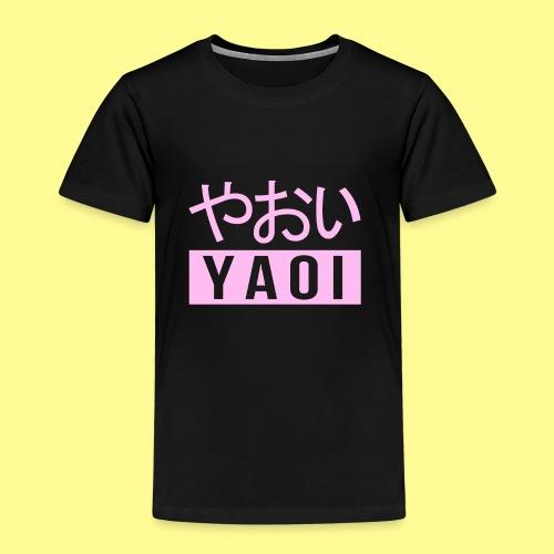 Pink Yaoi やおい - Maglietta Premium per bambini