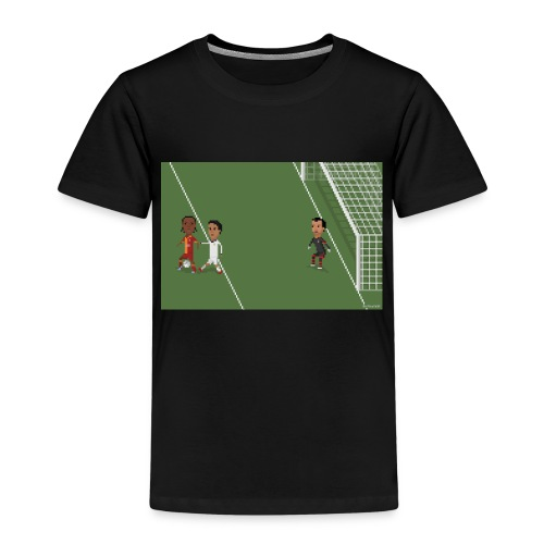 Backheel goal BG - Kids' Premium T-Shirt