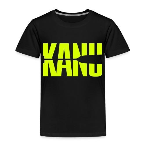 Kanu Kanute Wassersport Paddel 1c - Kinder Premium T-Shirt