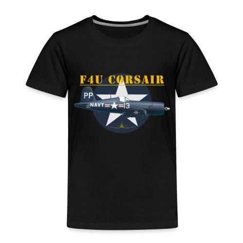 F4U-5P shirt design - Kids' Premium T-Shirt