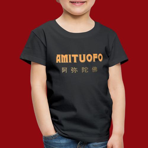 Amitoufo - Buddha - Zen - Shaolin - Buddhismus - Kinder Premium T-Shirt