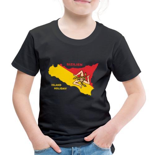 Sizilien Italien Holiday Sicily - Kinder Premium T-Shirt