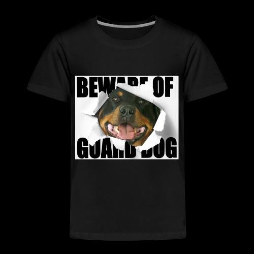 beware of guard dog - Kids' Premium T-Shirt