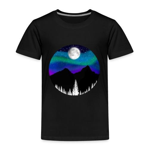 paisaje nocturno - Camiseta premium niño