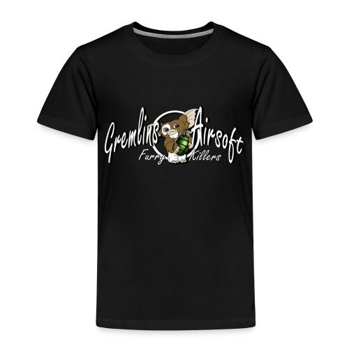 gizmowhite2 - Børne premium T-shirt