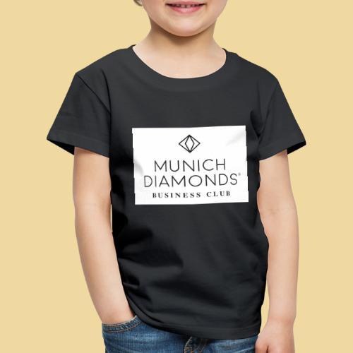 MDBC Logo weiss - Kinder Premium T-Shirt