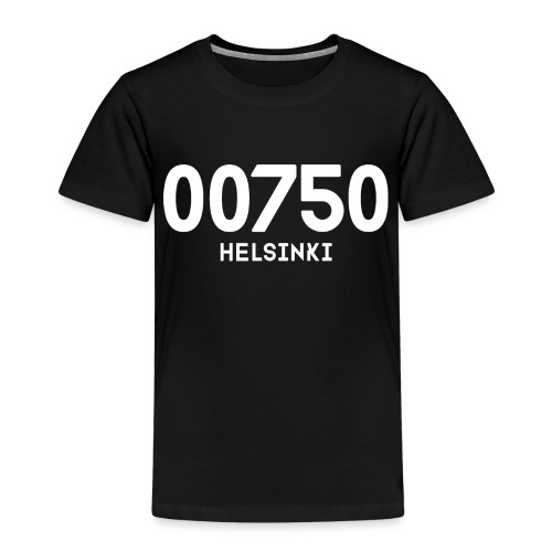 00750 HELSINKI - Lasten premium t-paita