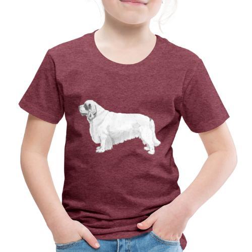clumber spaniel - Børne premium T-shirt