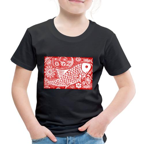 Fish in the sea - Kinderen Premium T-shirt
