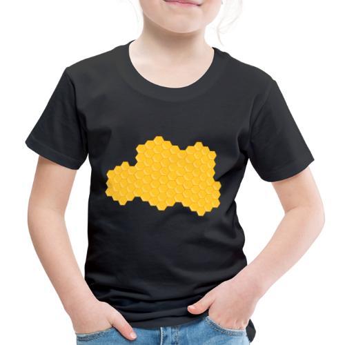 Bienenwabe - Kinder Premium T-Shirt