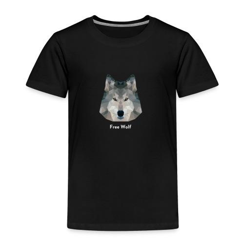 Free Wolf - T-shirt Premium Enfant