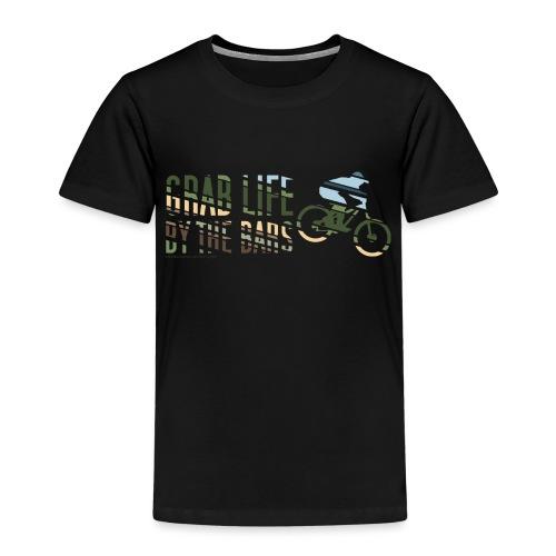 Enduro Mountain Bike Print - Kids' Premium T-Shirt