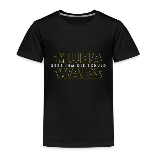 Muha Wars - Plain - Kinder Premium T-Shirt