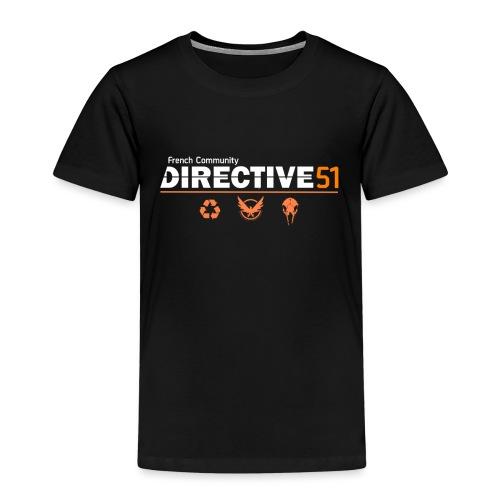 D51recy png - T-shirt Premium Enfant