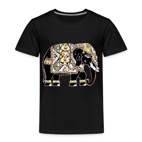 Indian elephant for luck - Kids' Premium T-Shirt
