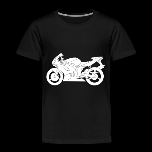 Four Wheels Moves The Body, Two Wheels Moves The S - Kids' Premium T-Shirt