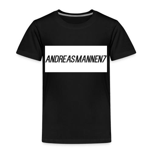 Caps med Andreasmanenn7 logo - Premium T-skjorte for barn