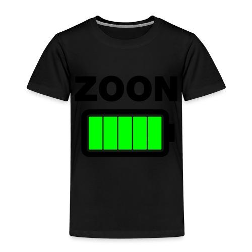 Batterij zoon vol - Kinderen Premium T-shirt