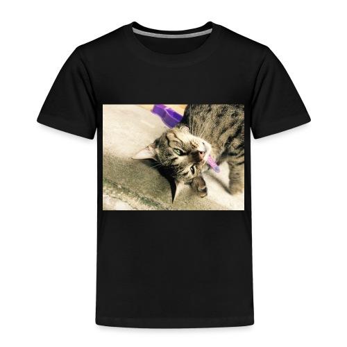 Gatito diseño de almuadilla para ratón - Camiseta premium niño
