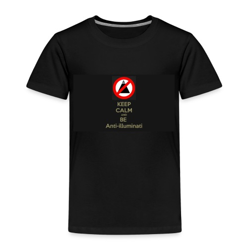 Keep calm and be anti illuminati - Kids' Premium T-Shirt