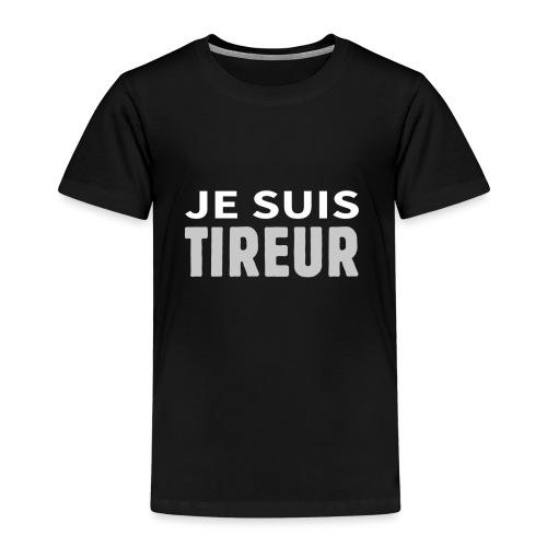 Je suis tireur - T-shirt Premium Enfant