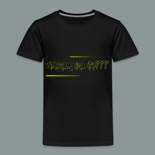 warum du 2 - Kinder Premium T-Shirt