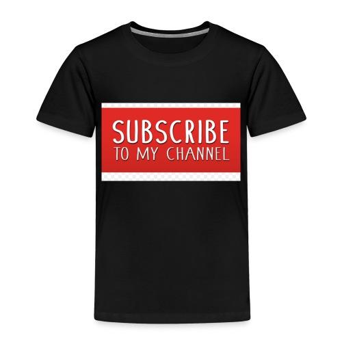 sub to galactic madman - Kids' Premium T-Shirt