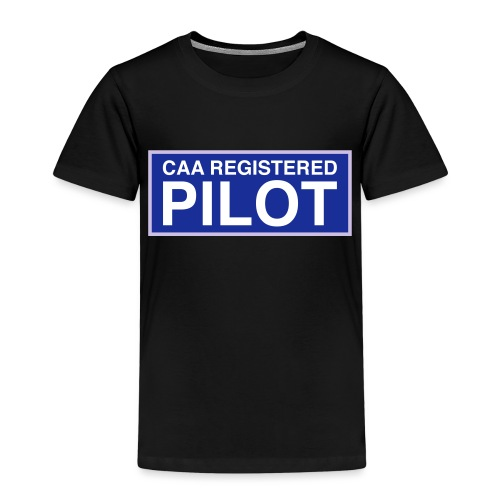 CAA Registered Pilot - Kids' Premium T-Shirt