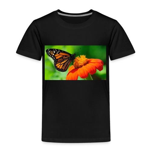 butterfly - Premium T-skjorte for barn