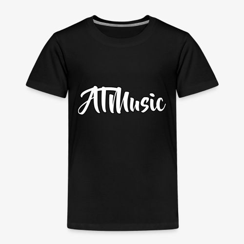 ATMusic T-Shirt Black - Premium T-skjorte for barn