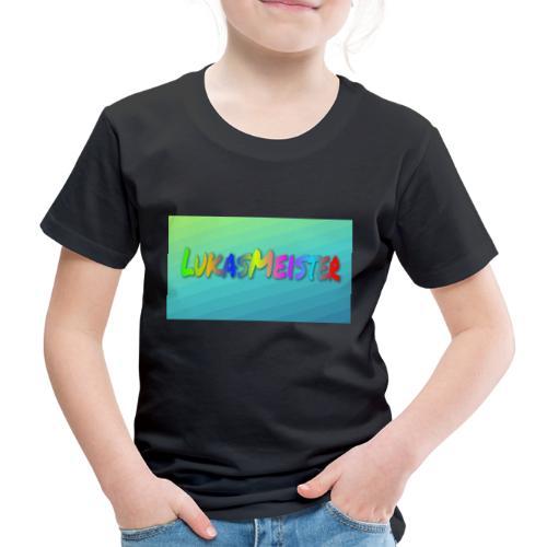 Kyllinge steam navn - Børne premium T-shirt