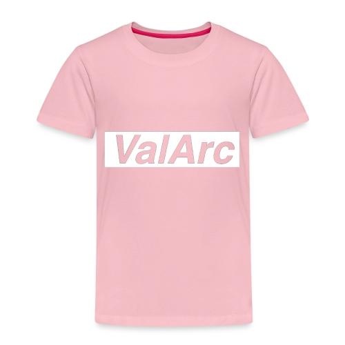 ValArc Text Merch White Background - T-shirt Premium Enfant