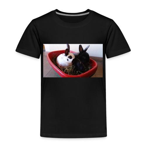 Warme Sachen mit dem Hasenlogo - Kinder Premium T-Shirt
