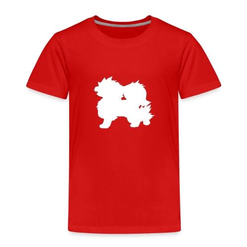 All white Arcanine Merch - T-shirt Premium Enfant
