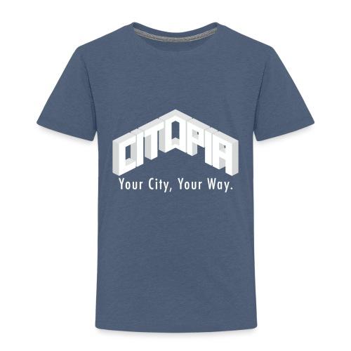 Logo with Slogan - Kids' Premium T-Shirt