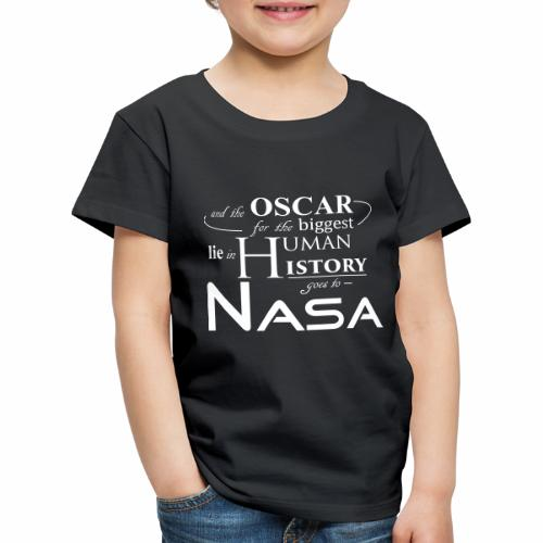 Flat Earth Nasa - Kinder Premium T-Shirt