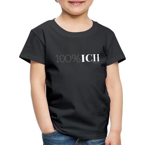 100%ICH weiss - Kinder Premium T-Shirt