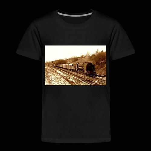 Dampflok BBÖ 12.10 - Kinder Premium T-Shirt