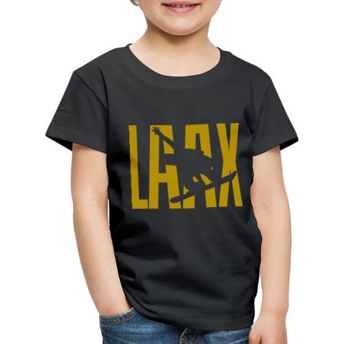LAAX Snowboard Winter Sport - Kinder Premium T-Shirt