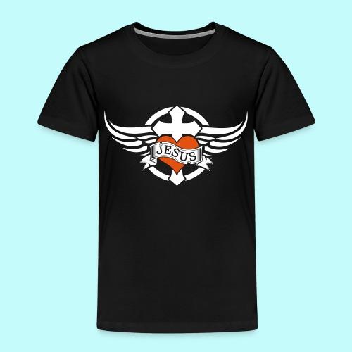 Love JESUS - Kinder Premium T-Shirt