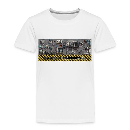 #MarchOfRobots ! LineUp Nr 1 - Børne premium T-shirt
