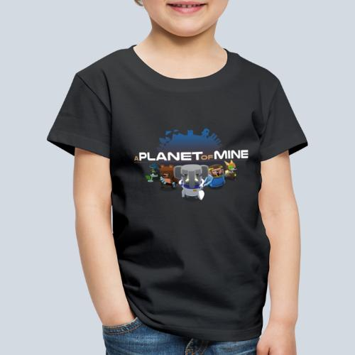 logo planetofmine dark HD - T-shirt Premium Enfant