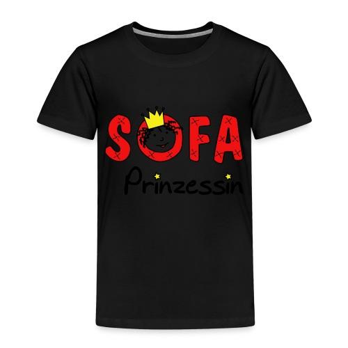 Sofaprinzessin Schriftzug - Kinder Premium T-Shirt