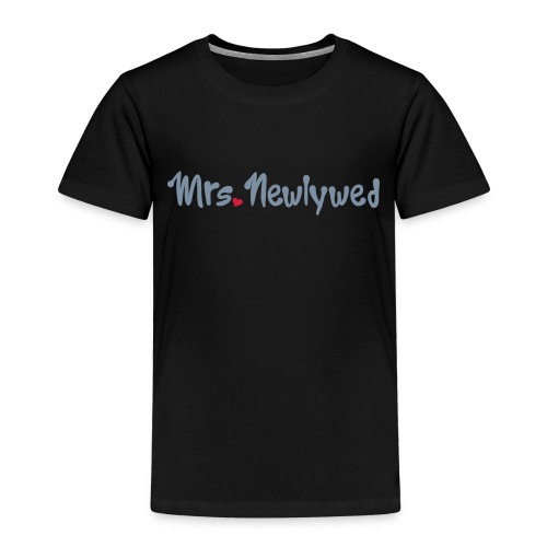 Mrs Newlywed - Kids' Premium T-Shirt