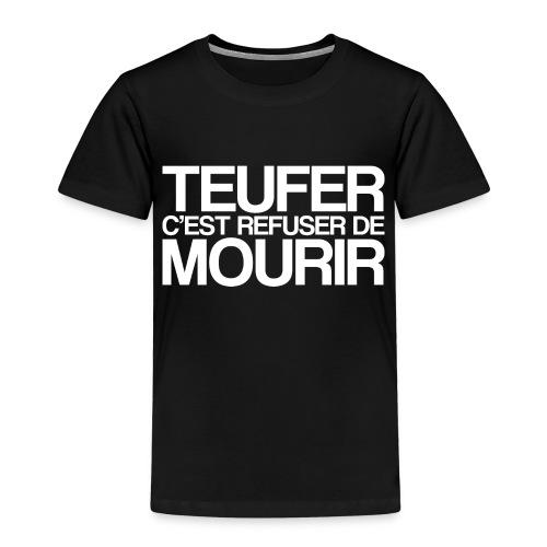 TEUFER - T-shirt Premium Enfant