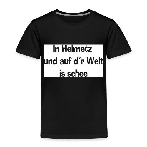 in-helmetz-schr-1 - Kinder Premium T-Shirt