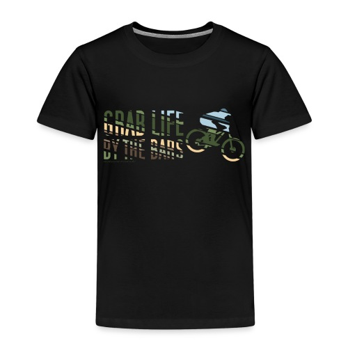 Enduro Mountain Bike Print - Kids' Premium T-Shirt