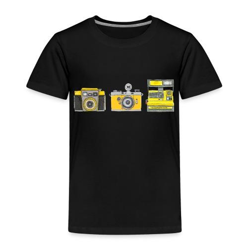 Ilex 3 Yellow Cameras - Kids' Premium T-Shirt