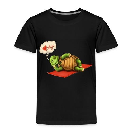 Love-Yoga Turtle - Kinder Premium T-Shirt